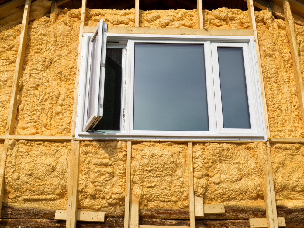isolation facade mousse polyurethane projetee